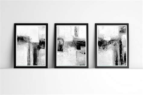 Abstract Black And White Wall by Minimalist Minimalist Wall Abstract By