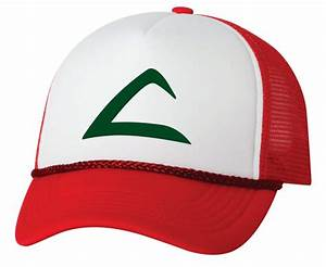 ash ketchum pokemon hat with swoosh