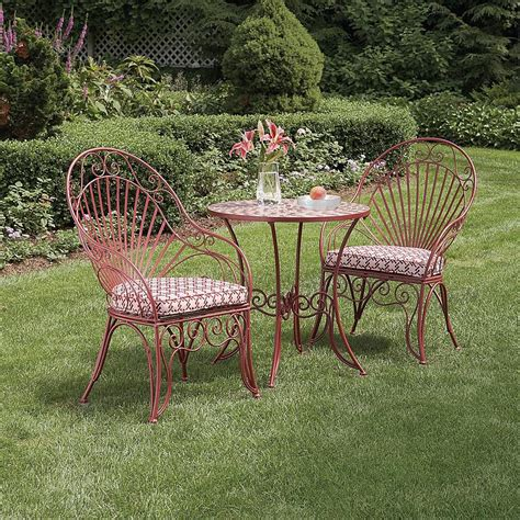 garden oasis l bs299sst 1 wrought iron bistro set with
