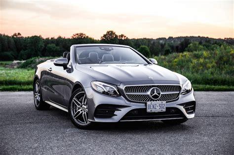 E 400 Convertible by Review 2018 Mercedes E 400 4matic Cabriolet Car