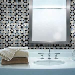 Carrelage adhesif mural maya smart tiles classique for Carrelage adhesif salle de bain avec deco led eclairage