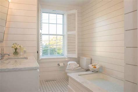 panelled bathroom ideas shiplap paneling design ideas