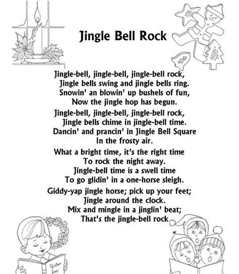 Merry Christmas Songs Lyrics Jingle Bell, Jingle Bell
