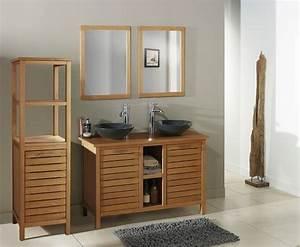meuble salle de bain double vasque brico depot carrelage With meuble de salle de bain bricoman