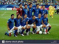 FIFA World Cup 2006 Italy vs Ukraine The Italian squad