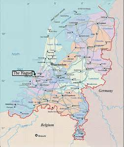 Netherlands Map Cities