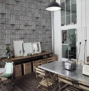 Au Fil Des Couleurs Papier Peint : inspiration papier peints au fil des couleurs paris ~ Melissatoandfro.com Idées de Décoration