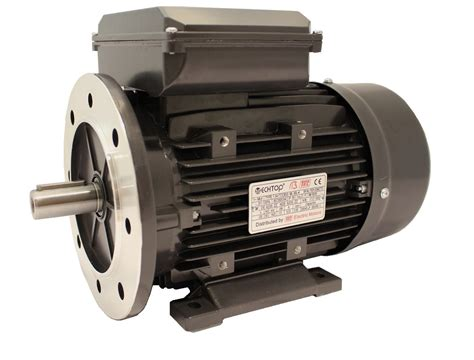 Moto 220v by Quot Tec Single Phase 230v Electric Motor 1 1kw 4 Pole