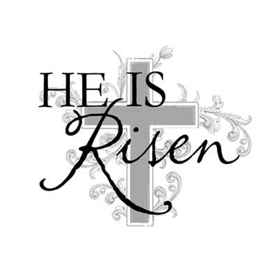 easter cross clipart black and white religious easter clipart blac clipground