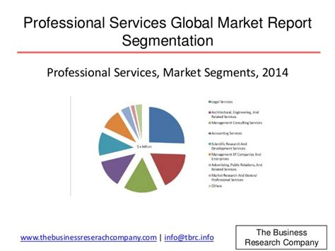 professional services global market report