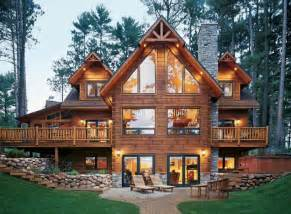 cabin style houses log home style design