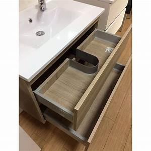 Salle de bains meuble design par cher a saisir for Salle de bain design avec vasque transparent