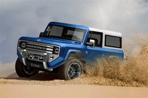 ford hints  mini bronco motoringurucomau