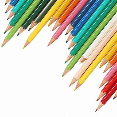 Pencils Pencil Transparent Background Clipart Coloured Books