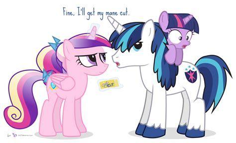 Get A Trim, Shining Armor   My Little Pony: Friendship is