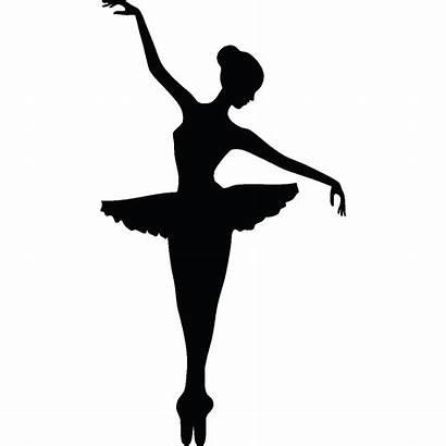Ballerina Ballet Sticker Silhouette Ballerine Disegno Transparent