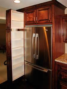 In Cabinet Refrigerator by Custom Kitchen Cabinets From Darryn S Custom Cabinets