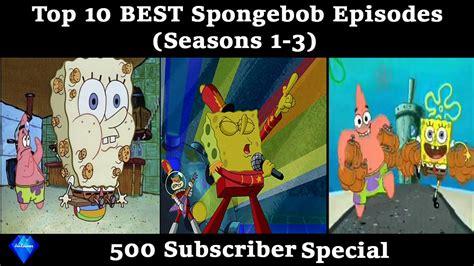 Top 10 Best Spongebob Pre-movie Episodes