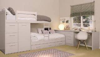 Camas dobles y triples para dormitorios juveniles e