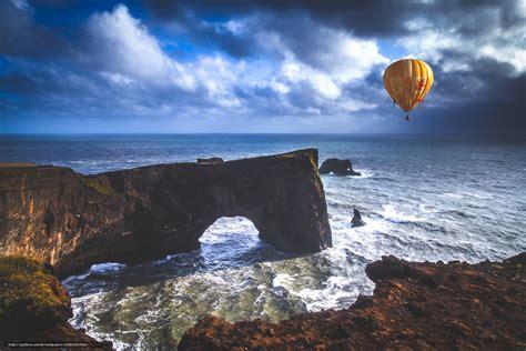 bureau paysage tlcharger fond d 39 ecran mer roche arc ballon fonds d