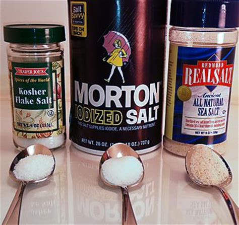 what is the difference between kosher salt and table salt the difference between kosher salt sea salt table salt
