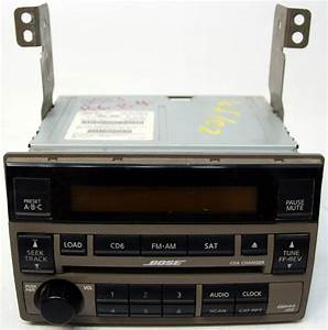 2005 2006 Nissan Altima Factory Stereo Bose 6 Disc Changer