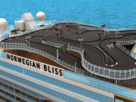 Norwegianu0026#39;s New U0026#39;Blissu0026#39; Cruise Ship Will Have Biggest Race Track At Sea - Condu00e9 Nast Traveler