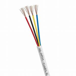 22  4 Gauge Awg Alarm Security Wire Cable Stranded