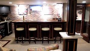 Basement Bar & Sports Room mov - YouTube