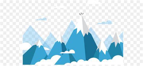 mount everest euclidean vector mountain rolling snow
