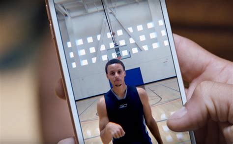 apple s new iphone 6s ad features nba steph curry