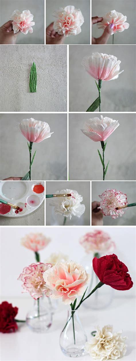 ideen wie sie papierblumen basteln koennen