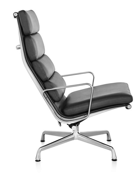 eames soft pad lounge chair herman miller eames 174 soft pad chair lounge chair gr