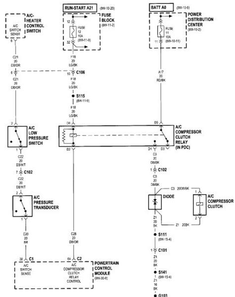 Dodge Ram Ignition Switch Diagram Wiring