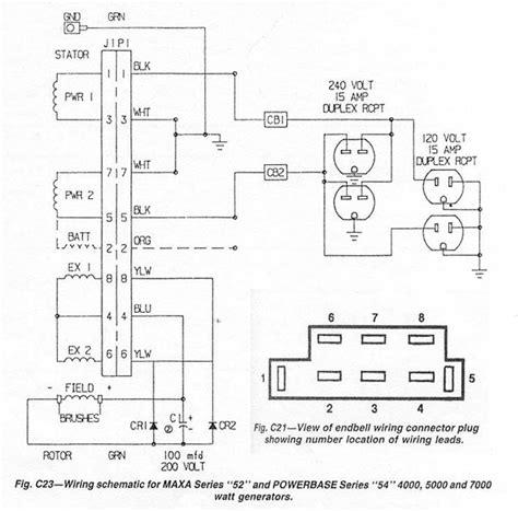Wiring diagram powermate generator webnotex wiring schematic for coleman generator free asfbconference2016 Gallery