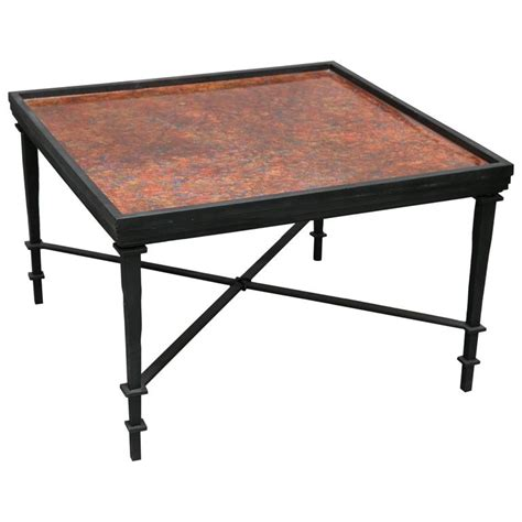 hand painted coffee table william loyd hand painted coffee table for sale at 1stdibs