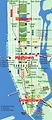 Map of Manhattan Tourist Pictures | Map of Manhattan City ...