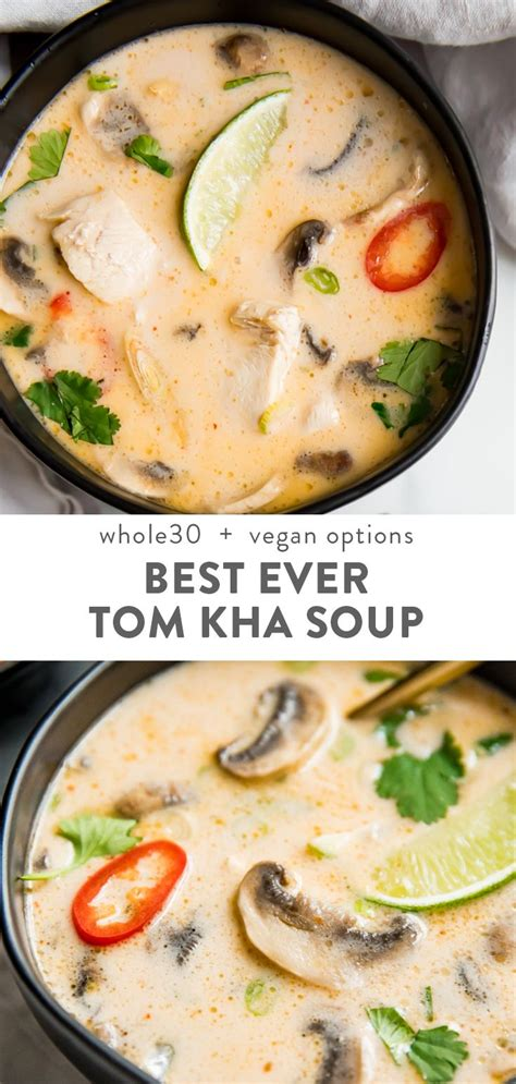 tom kha suppe best tom kha gai thai coconut soup recipe soups