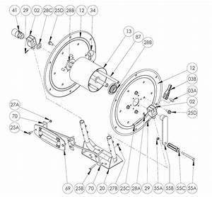 Pw Series Pressure Washer Hose Reel Parts  2 U0026quot  Split