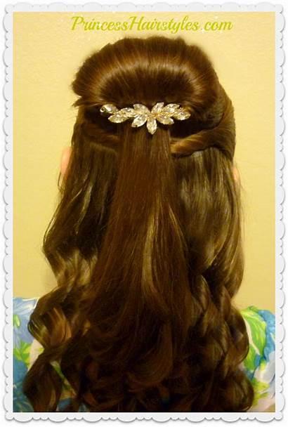 Belle Hairstyle Beauty Beast Tutorial Inspired Hair