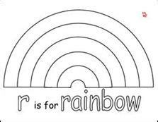 rainbow template for kids gallery template design ideas