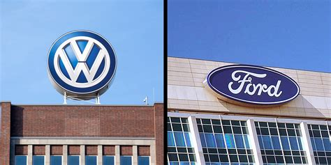 Volkswagen And Ford Formally Launch Global Alliance