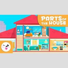 House Vocabulary  Learning The Parts Of The Home For Kids Youtube