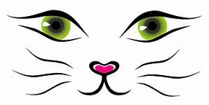 Cat face vector material | Download free Vector - ClipArt ...