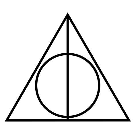 Kleurplaat Harry Potter En De Relieken De Dood by Dit Is Het Symbool De Relieken De Dood De