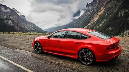Audi Rs7 Cars Mountains Vehicle Desktop Wallpapers