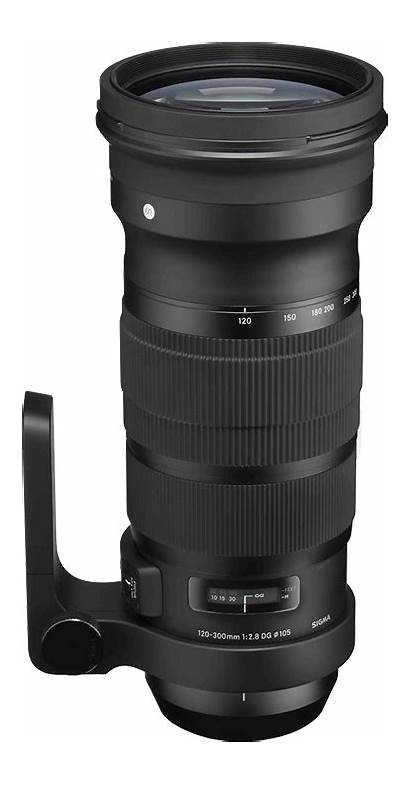 Nikon Lens Sigma 300mm F2 Zoom Dg