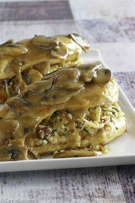 Stuffed Chicken Marsala Olive Garden - olive garden stuffed chicken marsala copykat recipes