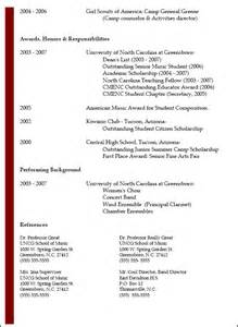 pictures of a resume resumes national association for education nafme
