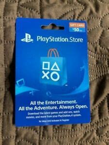Playstation network gift card 50 usd psn united states. PlayStation Gift Card $50 for PS4, PS3, PS Vita and PSP ...